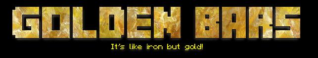 golden bars minecraft mod