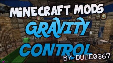 gravity control minecraft mod