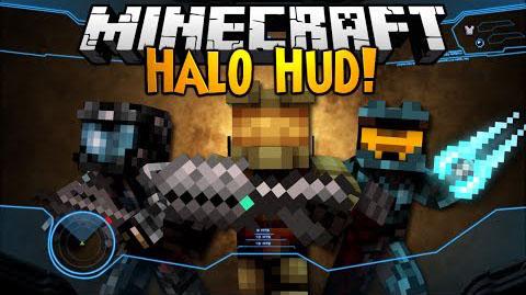 halo hud minecraft mod