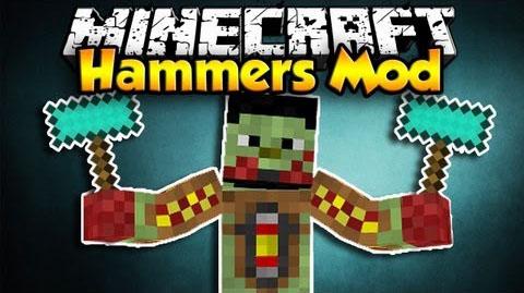 hammers minecraft mod