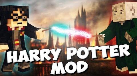 harry potter universe minecraft mod