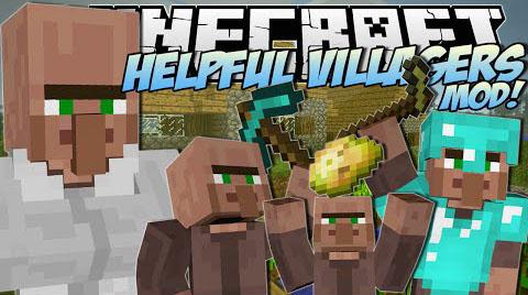 helpful villagers minecraft mod