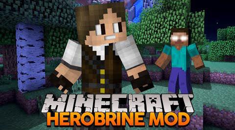 herobrine remake minecraft mod
