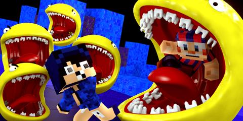 horror pacman minecraft mod