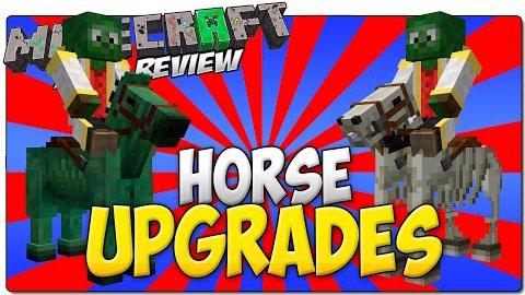 horse upgrades minecraft mod
