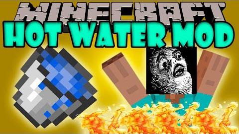 hot water minecraft mod