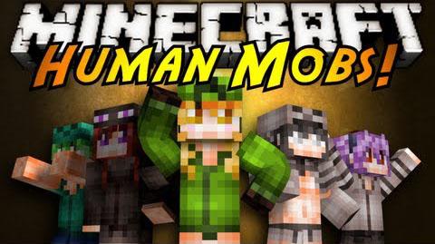 human mob minecraft mod