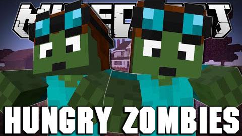 hungry zombie minecraft mod