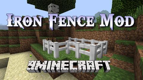 iron fence minecraft mod