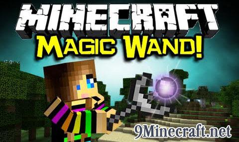 kuuus magic wand minecraft mod