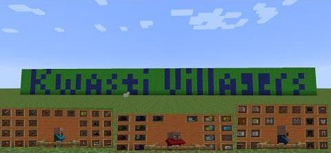 kwasti villagers minecraft mod