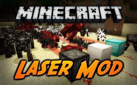 laser minecraft mod