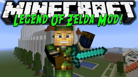 legend of zelda minecraft mod