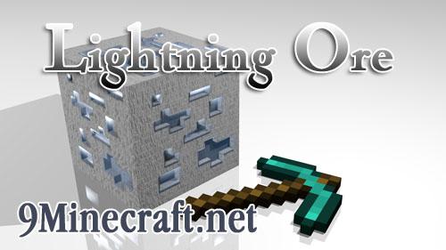lightning ore minecraft mod