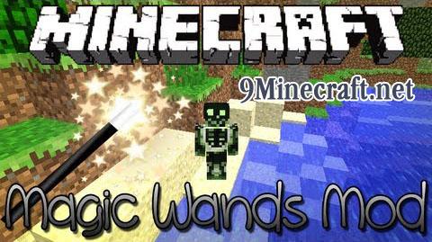 magic wands minecraft mod