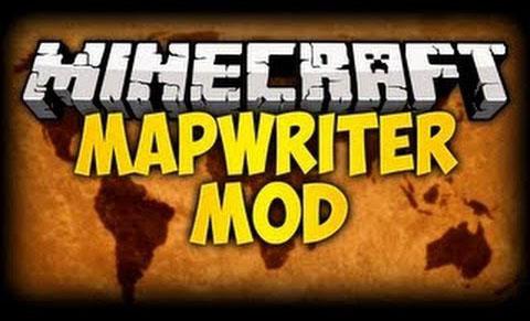 mapwriter minecraft mod
