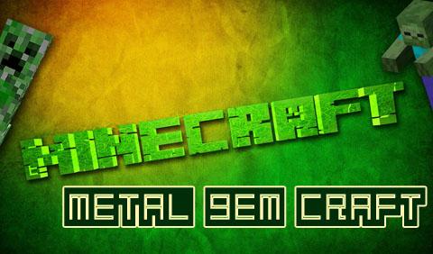 metal gem craft minecraft mod