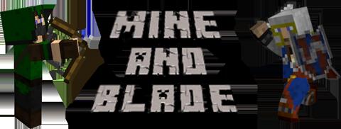 mine blade battlegear minecraft mod