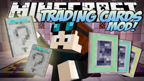 mine trading cards minecraft mod