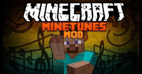 minetunes minecraft mod