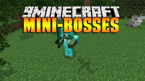 mini bosses minecraft mod