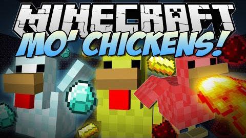 mo chickens minecraft mod