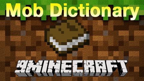 mob dictionary minecraft mod