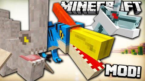 mob hunter minecraft mod