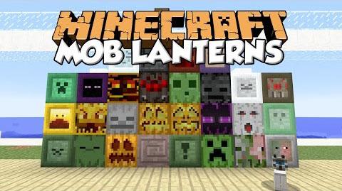 mob lanterns minecraft mod