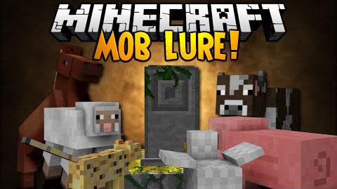 mob lure minecraft mod