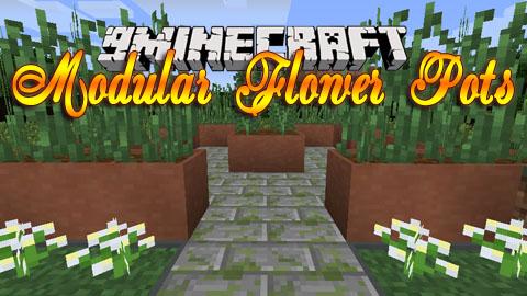 modular flower pots minecraft mod