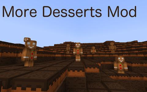 more desserts minecraft mod