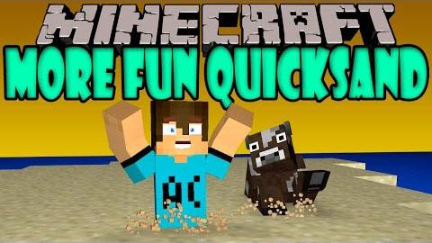 more fun quicksand minecraft mod