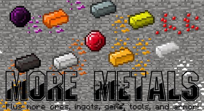 more metal minecraft mod