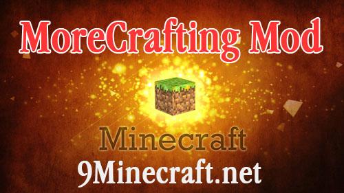 morecrafting minecraft mod
