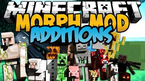 morph additions minecraft mod