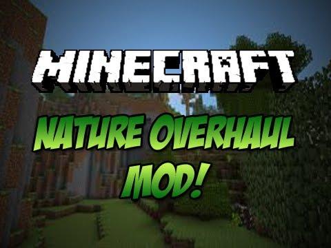 nature overhaul minecraft mod