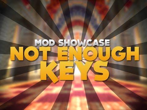 not enough keys minecraft mod