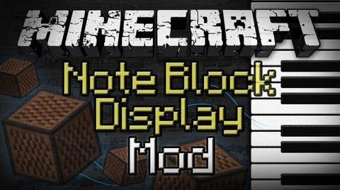 note block display minecraft mod