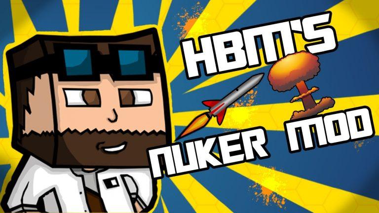 nuker by hbm minecraft mod