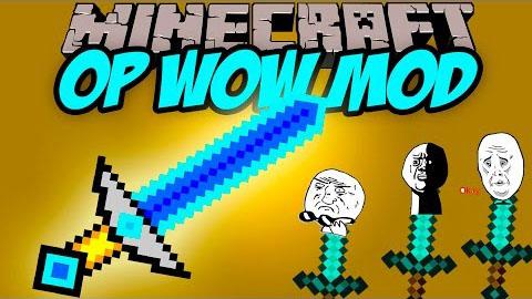op wow minecraft mod