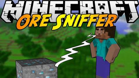 ore sniffer minecraft mod