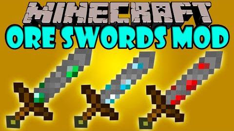 ore swords minecraft mod
