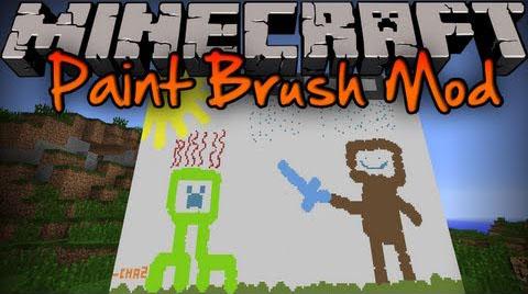 paintbrush minecraft mod