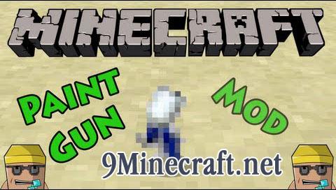 paintgun minecraft mod