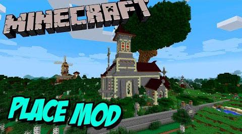 place minecraft mod
