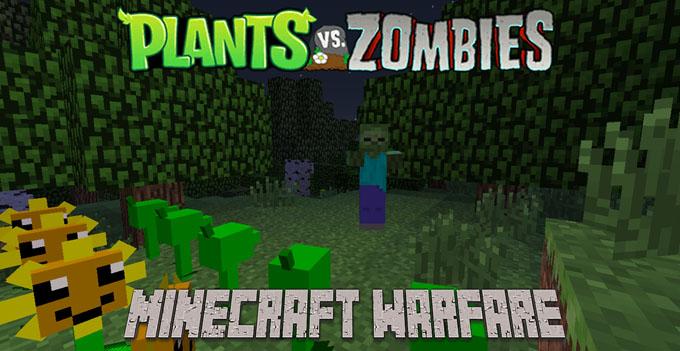 plants vs zombies minecraft warfare minecraft mod