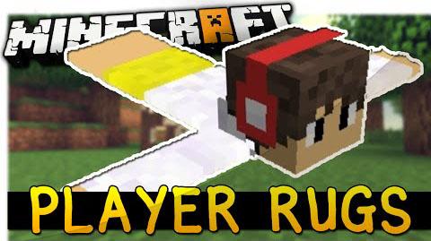 player rugs minecraft mod