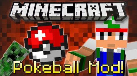 pokeball by grim3212 minecraft mod