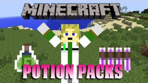 potion packs minecraft mod